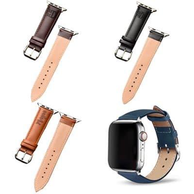 Bracelet cuir apple watch à personnaliser