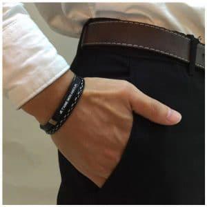 Bracelet homme personnalisable