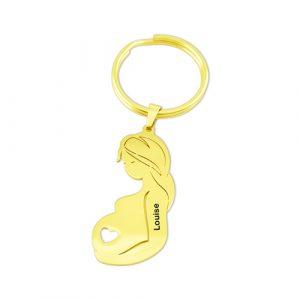 Porte-clés cadeau de grossesse