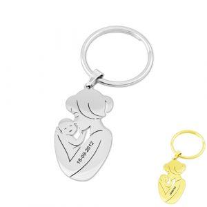 Porte-clés cadeau de maman