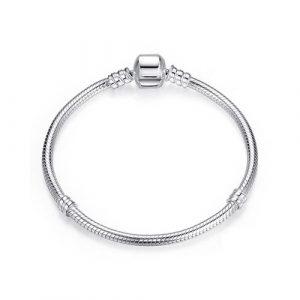 Bracelet à charms serpent en Argent